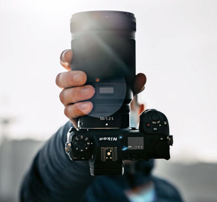 Photo Appareil photo numérique Reflex Nikon - Objectif 50mm/1.2S