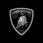 Logo Lamborghini noir et blanc